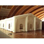 Аренда надувного эксклюзивного шатра 20х10м для проведения торжества на природе фото