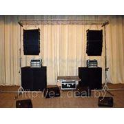 Аренда звукового оборудования для проведения мероприятий, презентация, концертов. Минск, выезд по Беларуси фото