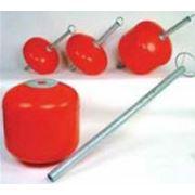 Поплавок пластиковый 35л 60л 120л 240л для швартовочных пальцев. фото