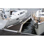 Понтонные системы Poralu Marine. PORALU MARINE является мировым лидером в строительстве понтонов и оборудования для яхтенных стоянок. Проектирование производство и продажу алюминиевых понтонов. фото