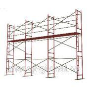 Аренда. Леса строительные рамные ЛСПР-200 фото