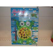 Игр Рыбалка M 0742 U/R (72шт) лягушка, на бат-ке, на листе, 43-31-4,5см (шт.) фото
