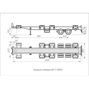 Полуприцеп для перевозки контейнеров по территории порта ВЕСТТ-930050 фото