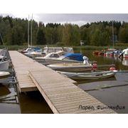 Понтоны деревянные Adamant Marina (Портовое оборудование). фото