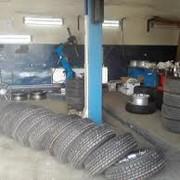 Шиномонтаж, балансировка, ремонт автомобильных колес фотография
