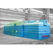Вагонотолкатели Т20М и Т22П2 являются частью разгрузочного комплекса и предназначены для надвига и установки железнодорожных полувагонов в вагоноопрокидыватели типа ВРС и ВБС транспортно-разгрузочное оборудование пр-во Днепротяжмаш Украина фото