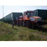 Мотовоз маневровый ММТ-3 на базе трактора ХТА-300 (локомобиль тяговый модуль маневровый тягач) фото