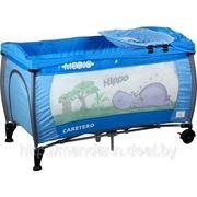 Манеж-кровать Caretero MEDIO (2 уровня) фото