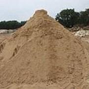 Песок (березовский речной мытый, фракция 0-3) с доставкой 5 тонн фото