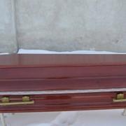 Гроб полированный фото