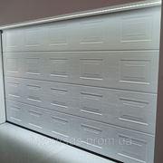 Филенчатые ворота для гаража фото