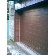 Ворота секционные Алютех M-Гофр фото