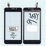 Сенсорное стекло (тачскрин) для Huawei Ascend Y635 черное, Диагональ 5 фото