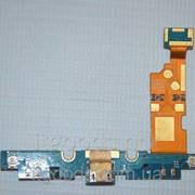 Шлейф (Flat cable) с коннектором зарядки, микрофона, подсветки сенсорных кнопок для LG Optimus G E975 4874 фото