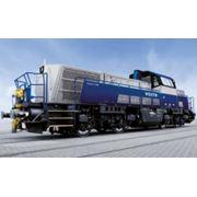 Магистральные локомотивы Voith Turbo Maxima 40 CC и Maxima 30 CC. Маневровые локомотивы Voith Turbo Gravita. фото