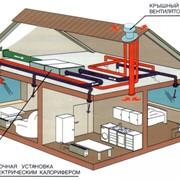 Проектирование систем кондиционирования и вентиляции. фото