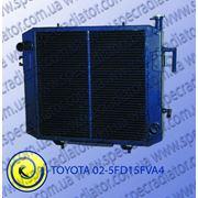 Радиатор водяного охлаждения двигателя для погрузчика TOYOTA 02-5FD15FVA4 фото