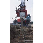 Вибропогружатель OVR S-80 вибропогружатель купить. фото