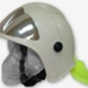 Шлем-каска пожарного спасателя фото