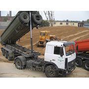 Самосвал с полуприцепом Маз-64221 с МАЗ 9506 25 тонн фото