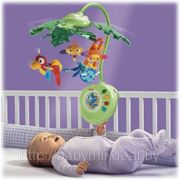 Карусель Тропический лес Fisher price, Tiny Love, Bright Starts прокат гродно каруселей фото
