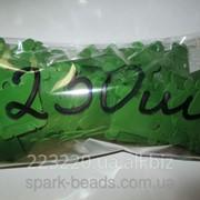 Шпули пластиковые для мулине зеленые (250 шт) фото