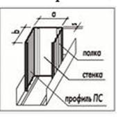 Стоечный профиль от производителя оптом со склада и на заказ ПРОФИЛЬ ПС фото