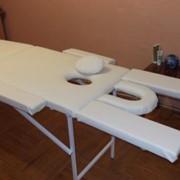 Стол для массажа с отверстием для лица фото