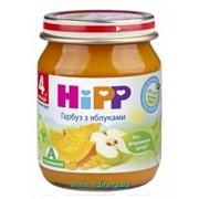 Пюре Hipp 125г Яблоки тыква, с 4мес фото
