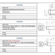 Винт колесный левосторонний 7/8 – 11BSF Сканиа фото