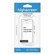 Защитная пленка для Highscreen Easy S/Pro глянцевая фото