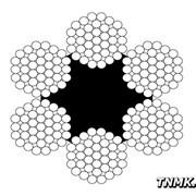 Канат стальной 13,5 мм ГОСТ 3071-88 ТК 6х37(1+6+12+18)+1 фото