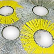 Щетки классические дисковые с металлическим сердечником фото