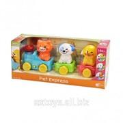 Паровозик с животными PlayGo 2815 фото