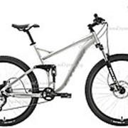 Велосипед Stark Tactic FS 27.5 HD (2020) Серебристый 18 ростовка фото