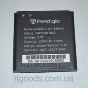 Аккумулятор оригинальный (АКБ, батарея) для Prestigio MultiPhone 3540 Duo 4409 фото