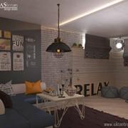Дизайн интерьера в стиле Лофт фото