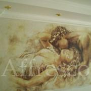 Фрески на стену в Астане фото