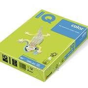 Бумага цветная iq color A4, 80г/м2, lg46-липовый 500 листов LG46-80 фото