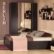 Полуторная кровать с ящиками Берлин ПМ-1 фото