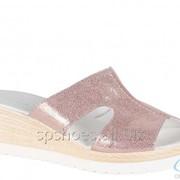Сабо женские 196-505, розовый фото