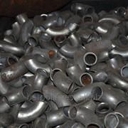Отвод стальной фото