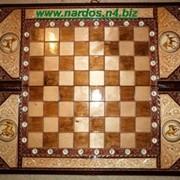 Шахматы-нарды ручной работа фото