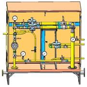 Шкафные регуляторные пункты ШРП для редуцирования (понижения) давления газа, применяются в бытовом и промышленном секторе: колонки, котлы, промышленные печи, горелки, а также другая газопотребляющая аппаратура фото