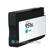 Струйный голубой картридж G&G 951XL для HP OJ Pro 8100/8600-8660/251dw/276dw 26ml фото