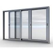 Окна алюминиевые и раздвижные фото