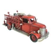 Декоративная модель, пожарный автомобиль с телескопической лестницей RD-1010-A-3552 фото