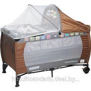 Манеж-кровать напрокат Caretero GRANDE (2 уровня) фото