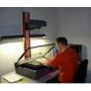 Сканирование данных в компьютеры и компьютерные системы фото
