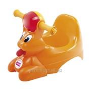 Дитячий горщик з музичною скринькою Spidy, колір помаранчевий, артикул 37824530 фото